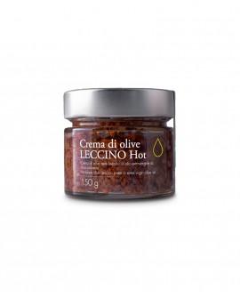 Crema di Olive Leccino HOT in olio extra vergine - 150g - Olio il Bottaccio