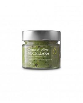Crema di Olive Nocellara in olio extra vergine - 150g - Olio il Bottaccio