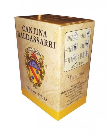 Vino Bianco Umbria - Bag in box da 5 lt - Cantina Baldassarri