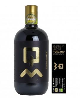 Olio Extravergine d'Oliva Toscano IGP biologico - 750ml - Olio Querciamatta