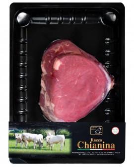 Filetto a fette di Carne Chianina - n.1 pezzo 250g skin - Carne Certificata - Macelleria Co.Pro.Car. San Nicolo