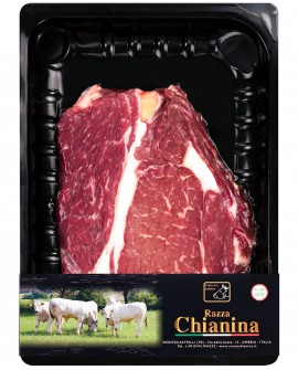 Scaloppina o Fracosta di Carne Chianina - n.1 pezzo 300g skin - Carne Certificata - Macelleria Co.Pro.Car. San Nicolo