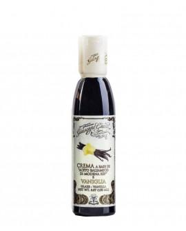 Crema Vaniglia - Glassa a base di Aceto Balsamico di Modena IGP - 150 ml - Giuseppe Giusti Modena dal 1605