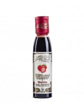 Crema Fragola - Glassa a base di Aceto Balsamico di Modena IGP - 150 ml - Giuseppe Giusti Modena dal 1605