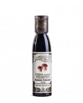 Crema Funghi Porcini - Glassa a base di Aceto Balsamico di Modena IGP - 150 ml - Giuseppe Giusti Modena dal 1605