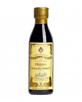Crema Vaniglia - Glassa a base di Aceto Balsamico di Modena IGP - 250 ml - Giuseppe Giusti Modena dal 1605