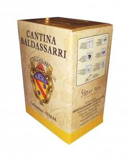 Vino Merlot IGT Umbria - Bag in box da 5 lt - Cantina Baldassarri