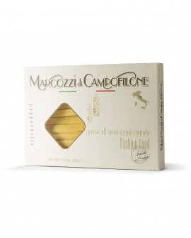 Pappardelle di Campofilone - pasta lunga all'uovo - astuccio da 250g - Pastificio Marcozzi