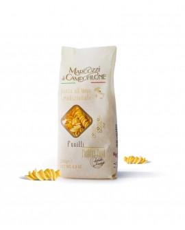 Fusilli - pasta corta all'uovo - sacchetto da 250g - Pastificio Marcozzi