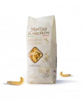 Torchietti - pasta corta all'uovo - sacchetto da 250g - Pastificio Marcozzi