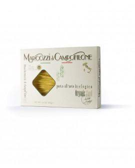 Maccheroncini di Campofilone IGP - pasta lunga all'uovo Biologica - astuccio da 250g - Pastificio Marcozzi