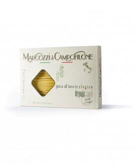 Fettuccine di Campofilone IGP - pasta lunga all'uovo Biologica - astuccio da 250g - Pastificio Marcozzi