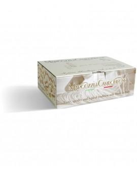 Gramigna bucata - pasta corta all'uovo - cartone da 3Kg - Pastificio Marcozzi