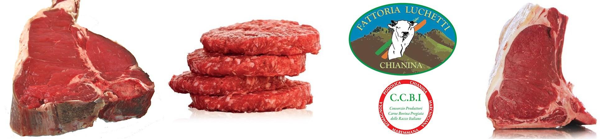 Carni pregiate Chianina - vendita online