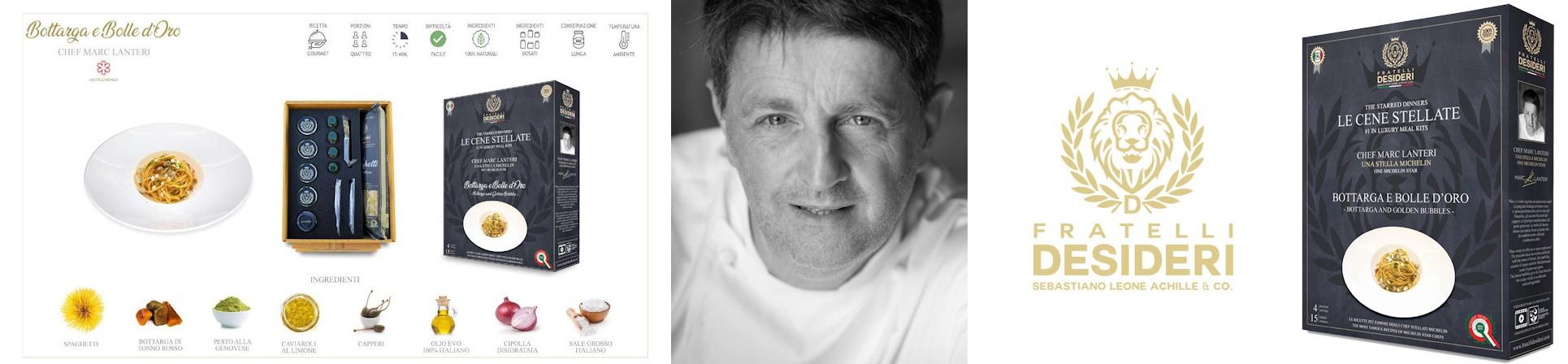 cene stellate vendita online -chef Marc Lanteri 1 stella Michelin