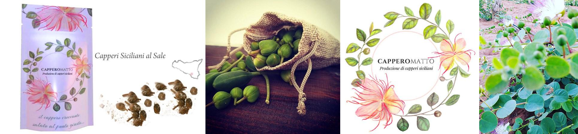 Capperi salati siciliani vendita online - CapperoMatto