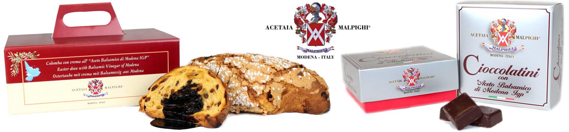vendita online Colomba Pasquale all'Aceto Balsamico acquista online - ACETAIA MALPIGHI