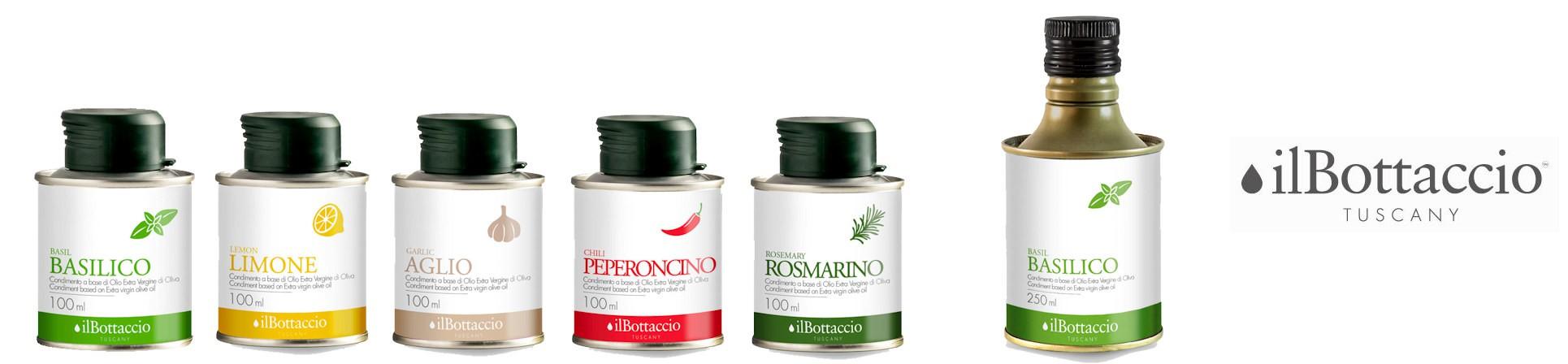Infusi di olio evo vendita online - il Bottaccio Tuscany